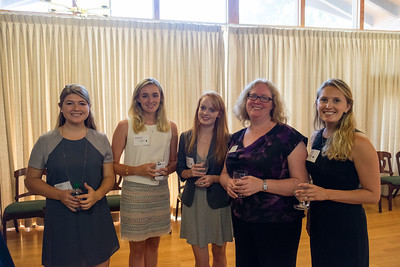 Reception for Carey Fellows, C'20