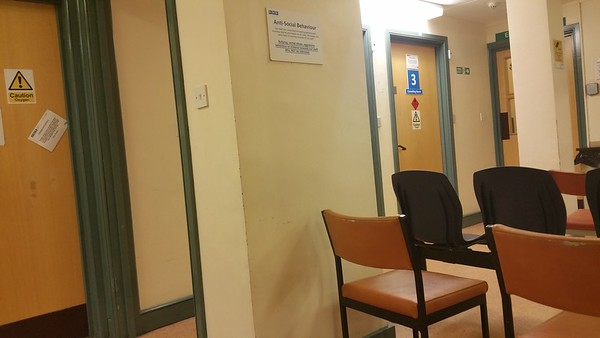 So,I am waiting to see the Nurse...