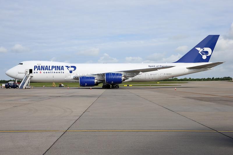 N850GT | Boeing 747-87UF | Panalpina (Atlas Air)