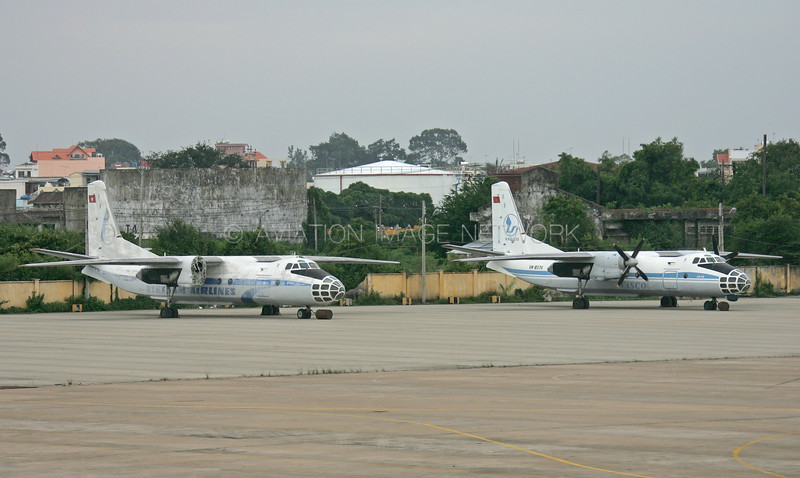 VN-B378   VN-376   Antonov An-30   Vietnam Airlines    VASCO - Vietnam Air Services Company