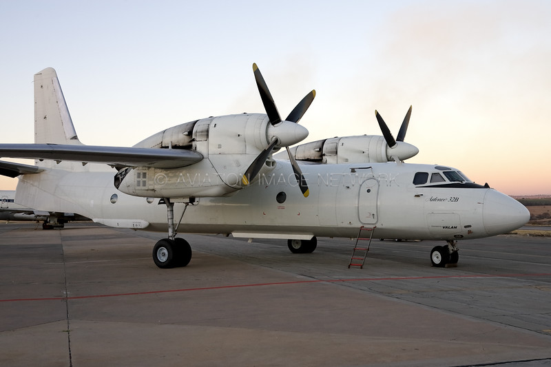 ZS-OWX | Antonov AN-32B | Valan International Cargo Charter