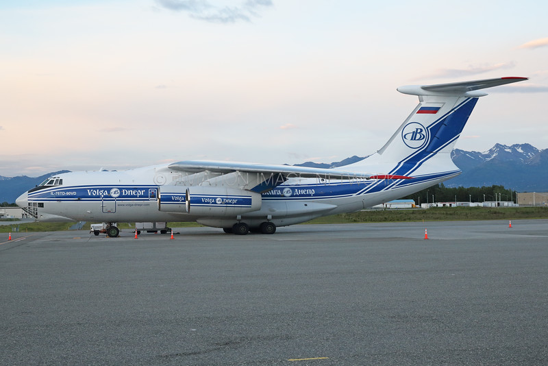 RA-78503 | Ilyushin Il-76TD-90VD | Volga-Dnepr Airlines