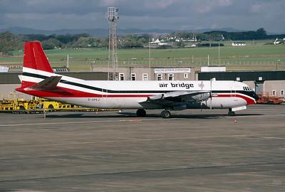 G-APEJ   Vickers V953C Merchantman   Air Bridge Carriers