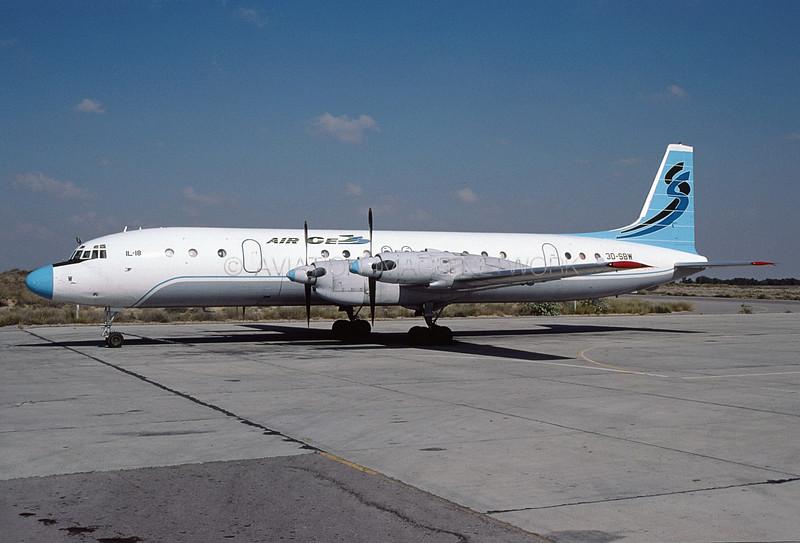 3D-SBW   Ilyushin Il-18D   Air Cess