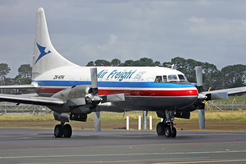 ZK-KFH | Convair CV-580F | Air Freight NZ