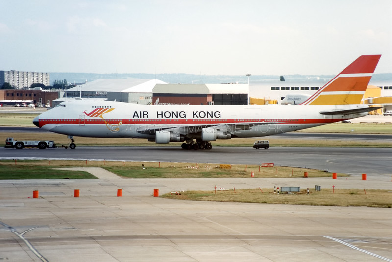 VR-HKM | Boeing 747-132 (SF) | Air Hong Kong
