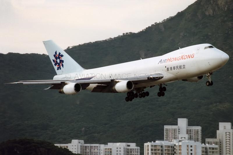 B-HMF | Boeing 747-2L5B (SF) | Air Hong Kong