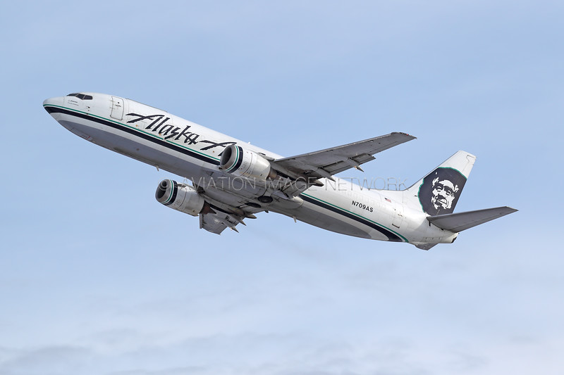 N709AS | Boeing 737-490(SF) | Alaska Air Cargo