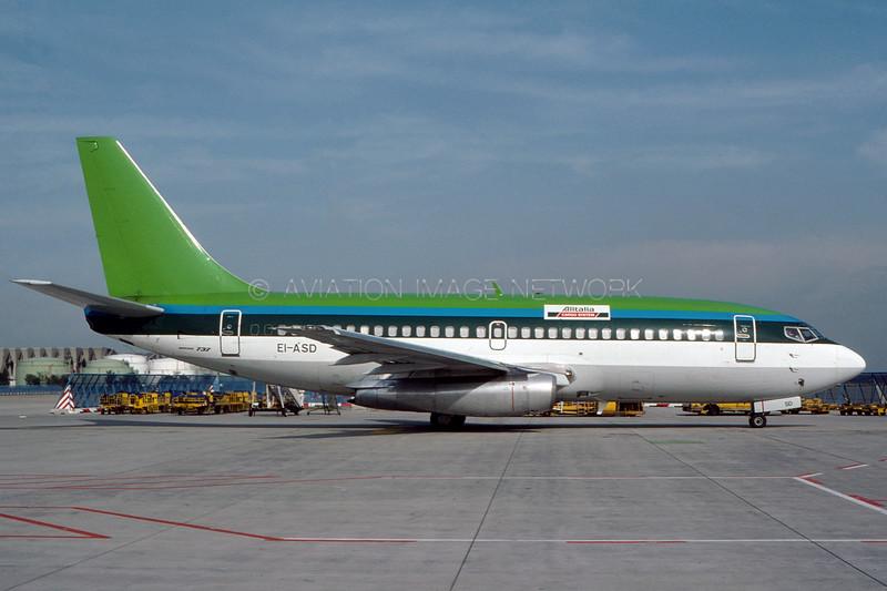 EI-ASD | Boeing 737-248C | Alitalia Cargo (Aer Lingus)
