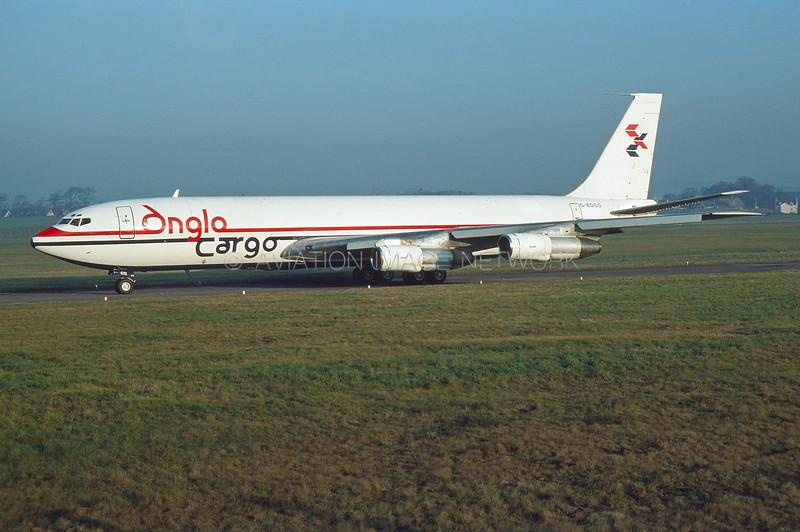 G-EOCO | Boeing 707-338C | Anglo Cargo