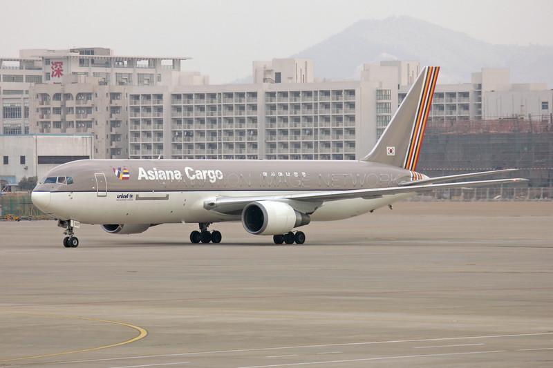 HL7507 | Boeing 767-38EF/ER | Asiana Cargo