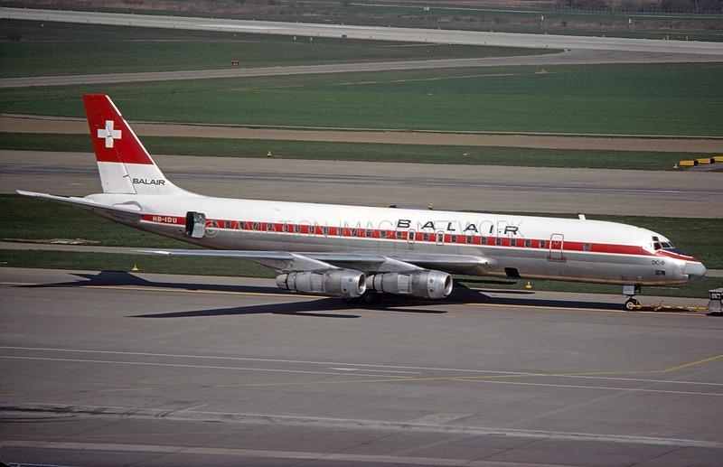 HB-IDU | Douglas DC-8-55F | Balair