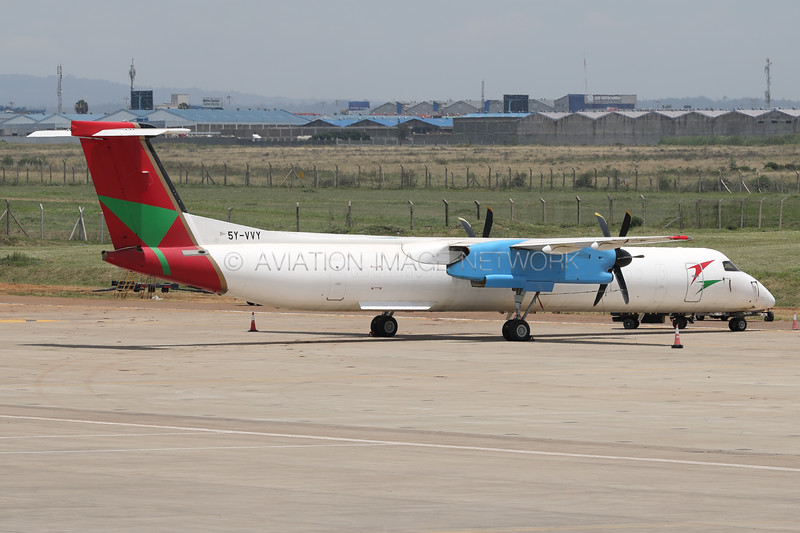 5Y-VVY | Bombardier Dash 8-Q402(F) | Blue Bird Aviation (Kenya)