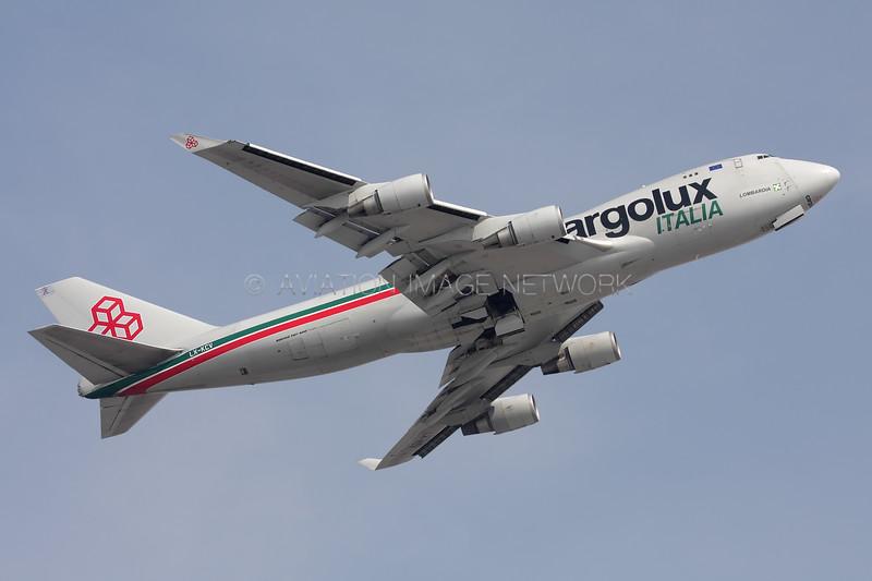 LX-KCV   Boeing 747-4R7F   Cargolux Italia