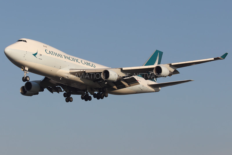 B-LIA | Boeing 747-467F/ER | Cathay Pacific Cargo