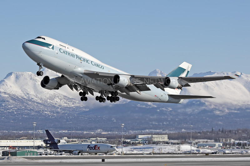 B-KAG   Boeing 747-412(BCF)   Cathay Pacific Cargo