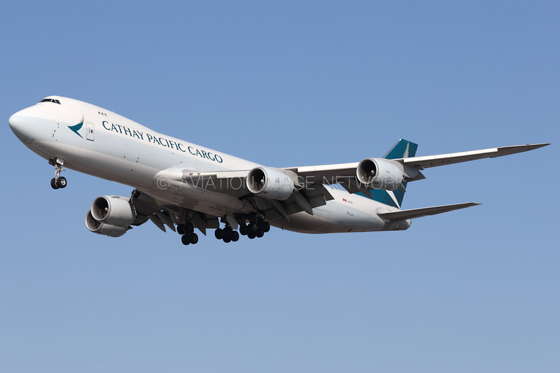 B-LJJ   Boeing 747-867F/SCD   Cathay Pacific Cargo