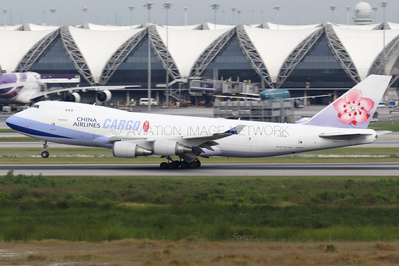 B-18725 | Boeing 747-409F/SCD | China Airlines Cargo
