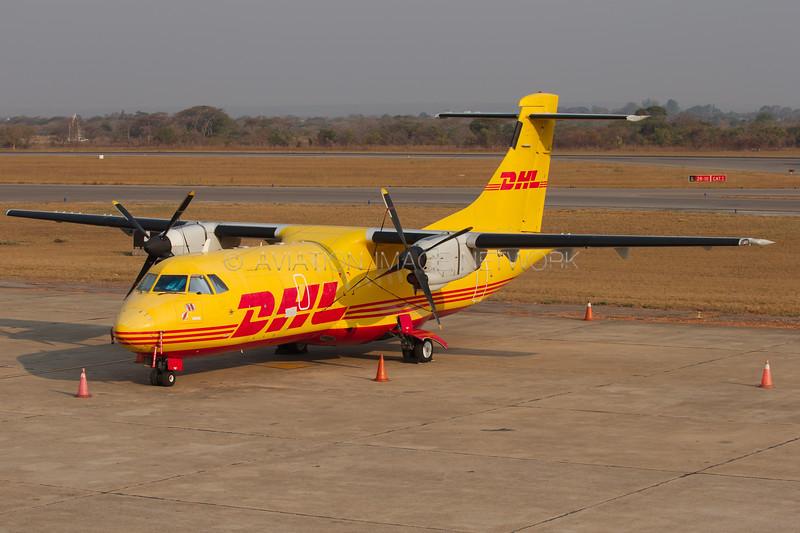 ZS-OVP | ATR 42-300F | DHL Aviation (Solenta Aviation)