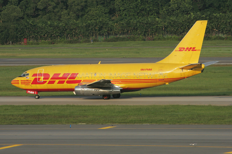 9M-PMM | Boeing 737-205C(A) | DHL Aviation (Transmile Air)