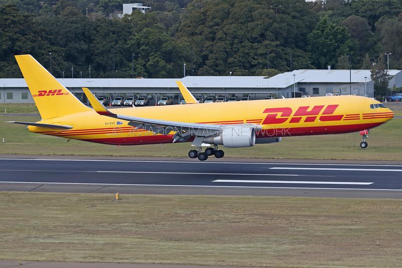 VH-EXZ | Boeing 767-3JHF(ER) | DHL Aviation (Tasman Cargo Airlines)