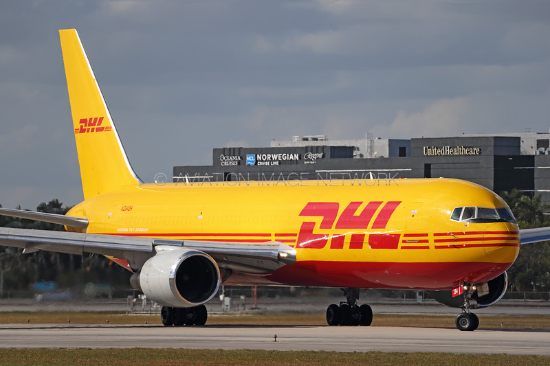 N284DH | Boeing 767-304(ER)(BDSF) | DHL Aviation (Kalitta Air)