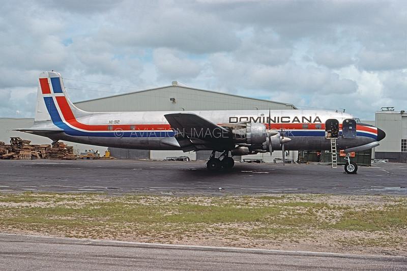 HI-92   Douglas DC-6B   Dominicana