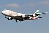 OO-THC | Boeing 747-4HAF/ER | Emirates SkyCargo (TNT Airways)