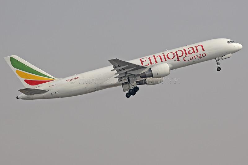 ET-AJX | Boeing 757-260(PCF) | Ethiopian Cargo
