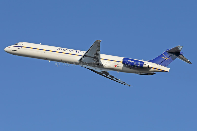 N73444 | McDonnell Douglas MD-82SF | Everts Air Cargo