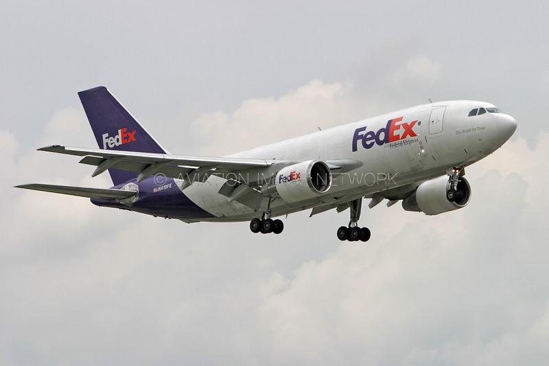 N419FE   Airbus A310-222F   FedEx Express