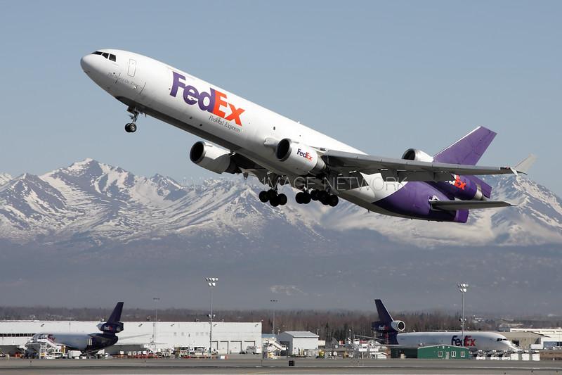 N585FE | McDonnell Douglas MD-11F | FedEx Express
