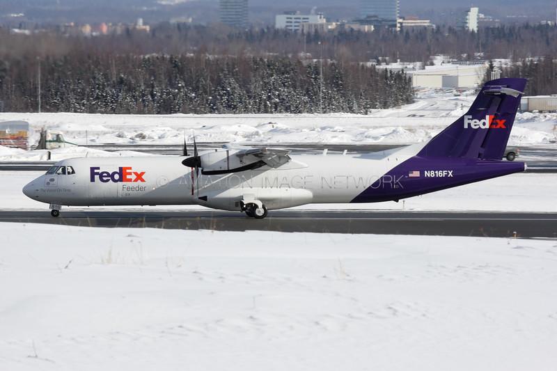 N816FX | ATR 72-212(F) | FedEx Feeder