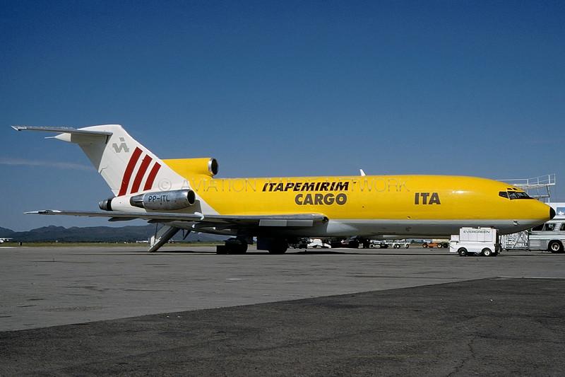 PP-ITL | Boeing 727-046C | ITA -  Itapemirim Transportes Aéreos