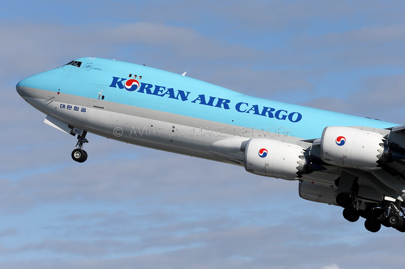 HL7610 | Boeing 747-8HTF/SCD | Korean Air Cargo