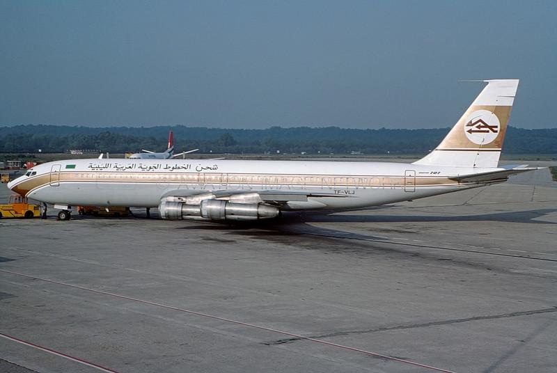 TF-VLJ | Boeing 707-324C | Libyan Arab Airlines Cargo