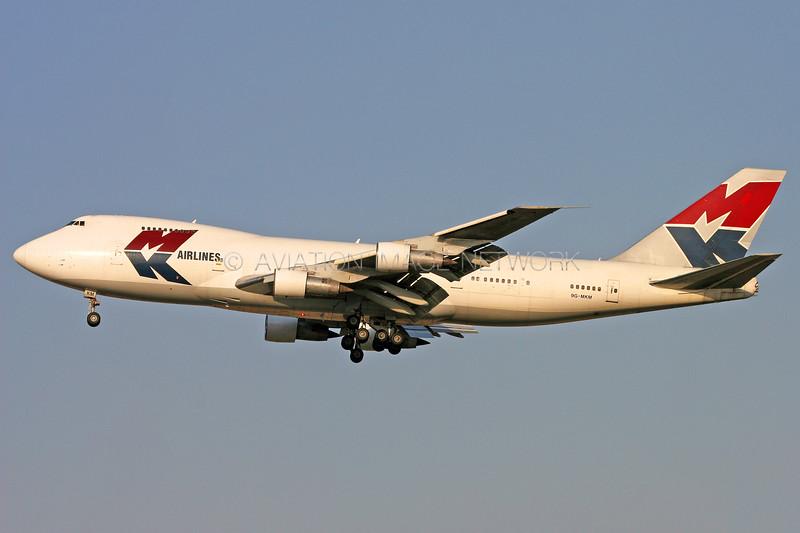 9G-MKM | Boeing 747-2B5F/SCD | MK Airlines