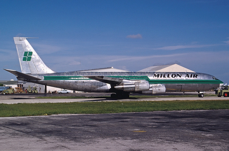 N730FW | Boeing 707-331C | Millon Air