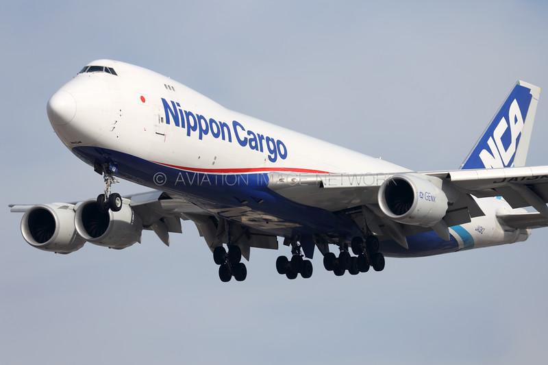 JA13KZ   Boeing 747-8KZ/F   NCA - Nippon Cargo Airlines