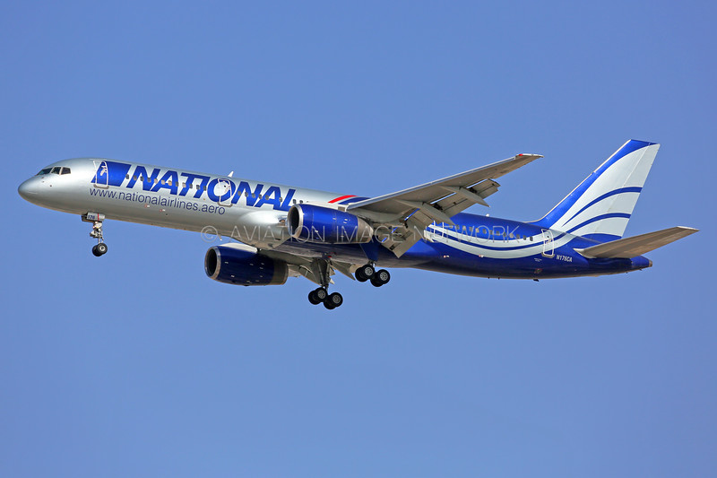 N176CA | Boeing 757-28A | National Airlines
