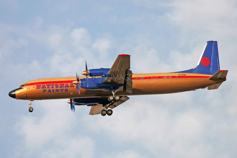 EX-75466 | Ilyushin Il-18 | National Paints