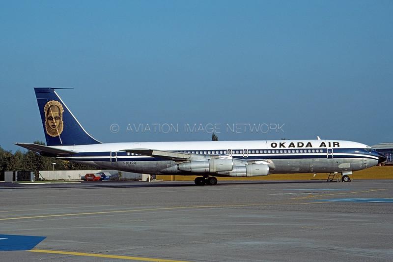 5N-ADQ | Boeing 707-355C | Okada Air