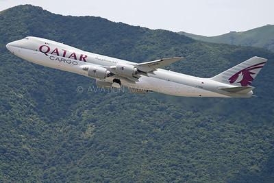 A7-BGB | Boeing 747-87UF | Qatar Airways Cargo