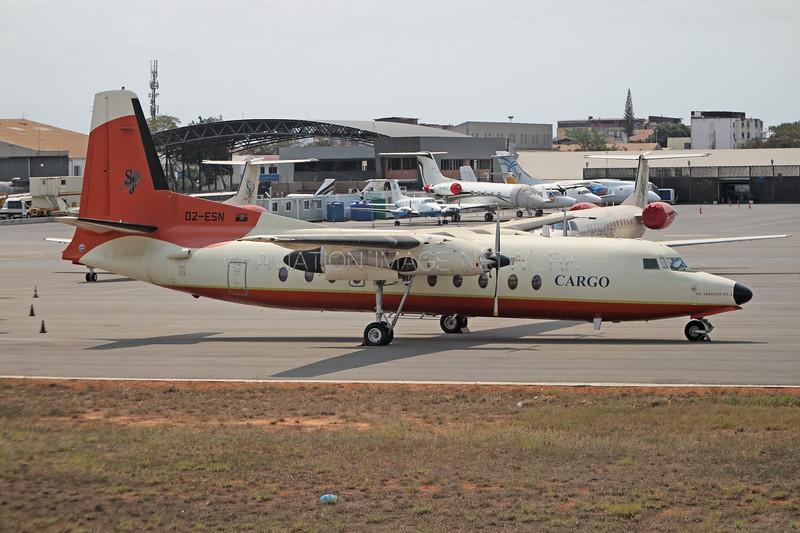 D2-ESN | Fokker F27-500RF | SJL Aeronautica Cargo