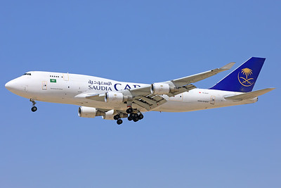 TC-ACF | Boeing 747-481/BDSF | Saudia Cargo (ACT Airlines)