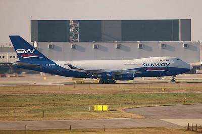 4K-SW888 | Boeing 747-4R7F/SCD | Silk Way Airlines