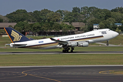 9V-SFD | Boeing 747-412F/SCD | Singapore Airlines Cargo
