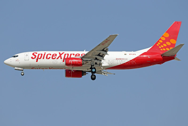 VT-SFG | Boeing 737-84P(BCF) | SpiceXpress