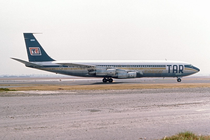 LV-MZE | Boeing 707-338C | TAR Cargo - Transportes Aereos Rioplatense