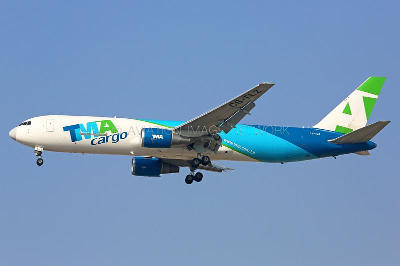 CS-TLZ | Boeing 767-375F | TMA Cargo - Trans Mediterranean Airways